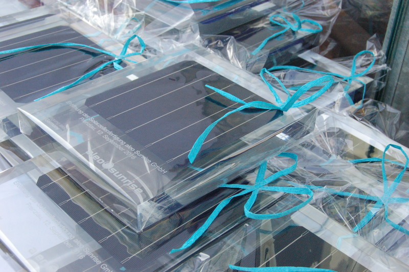 aleo will produce its own high efficiency PERC solar cells in Germany